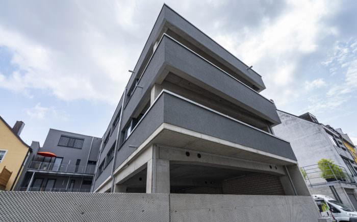 Ansicht des gesamten Gebäudes